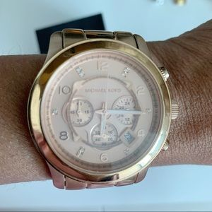Michael Kors Limited Edition Rose Gold Watch
